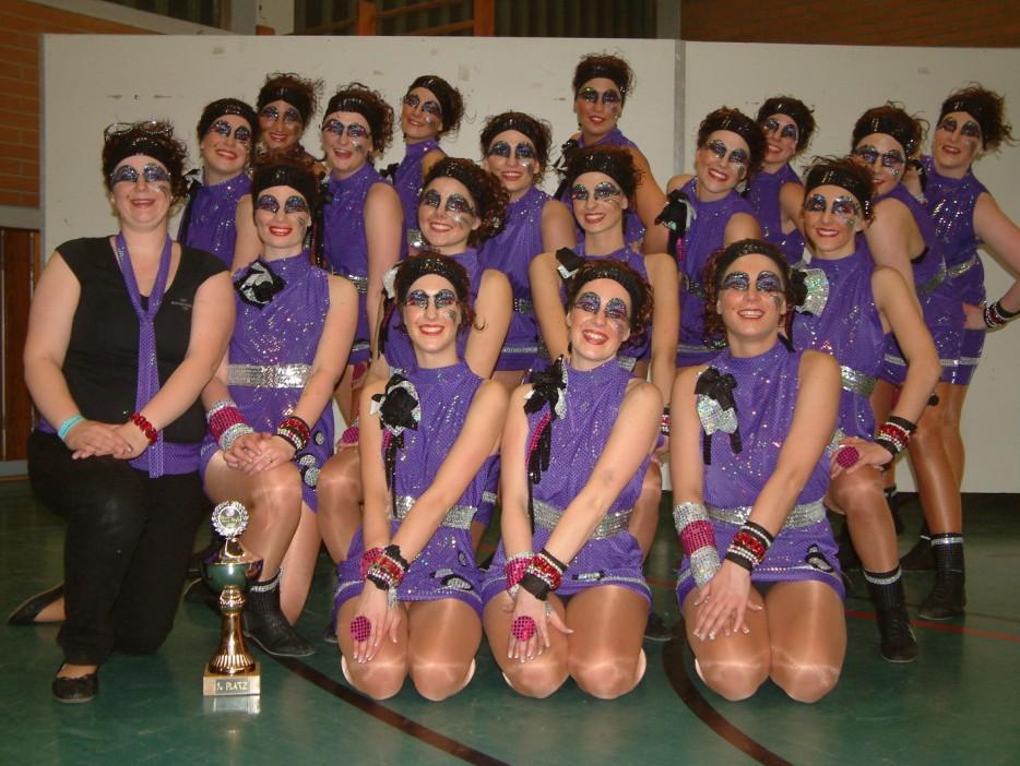 """After-Work-Party"" 2008/2009 - 1. Platz bei der Show-Dance-Night Esselbach"