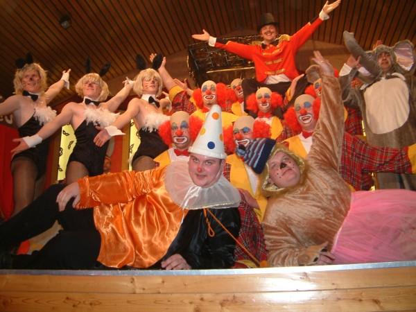 """""""Wasn Zirkus"""" im """"Zirkus Rattel"""" 2008/2009 - 2. Platz in Grünsfeld und Holzkirchhausen"""