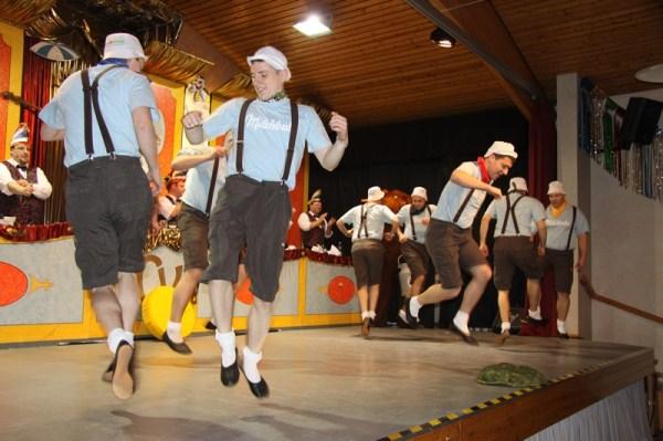 """""""Milch"""" 2011/2012 - 2. Platz in Helmstadt; 6. Platz in  Grünsfeld"""