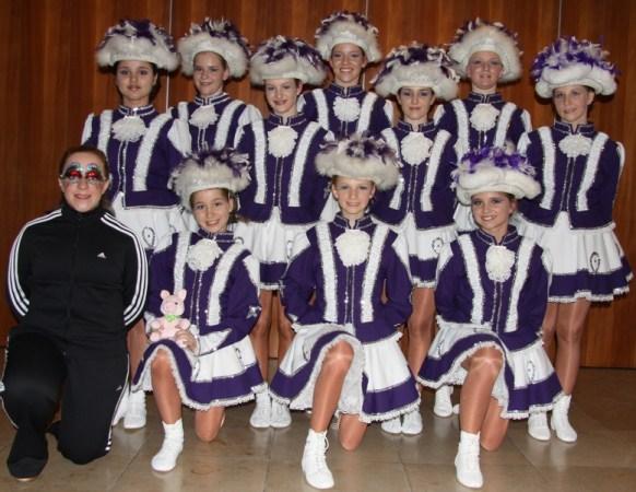 2010/2011 - Mit ihrem Tanz haben sie beim Turnier in Uettingen den 8. Platz belegt!
