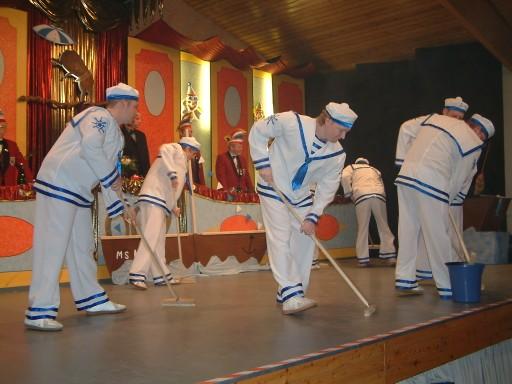 """""""Popeye"""" 2007/2008 - 3. Platz in Karbach (""""Männerpower)"""